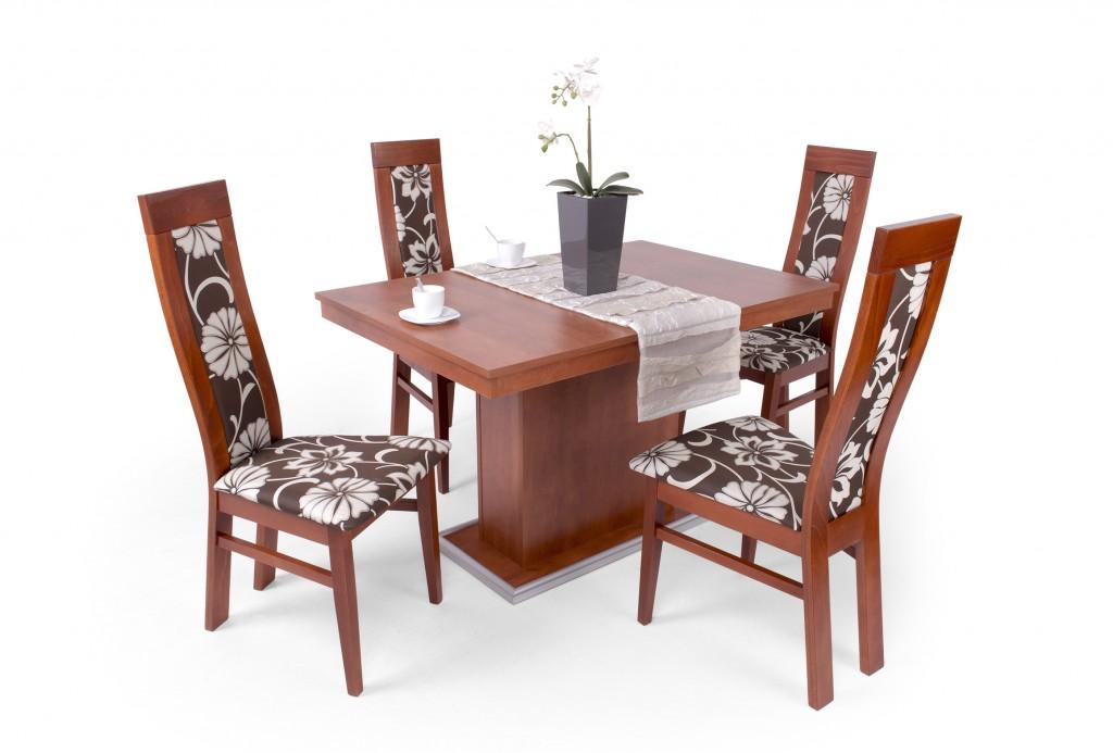 Dante 4 személyes étkező (Flóra asztal) (DV) Étkező garnitúrák